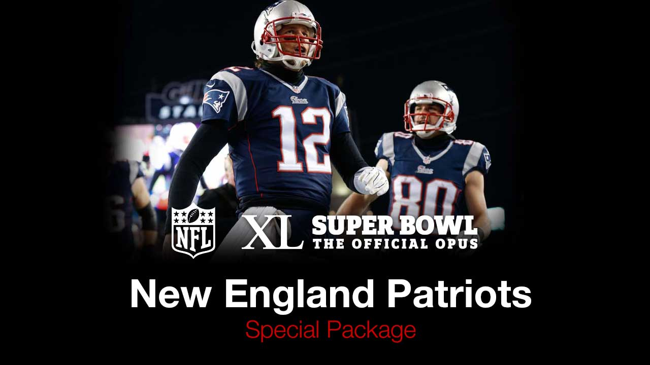Super Bowl Opus Patriots Special Edition