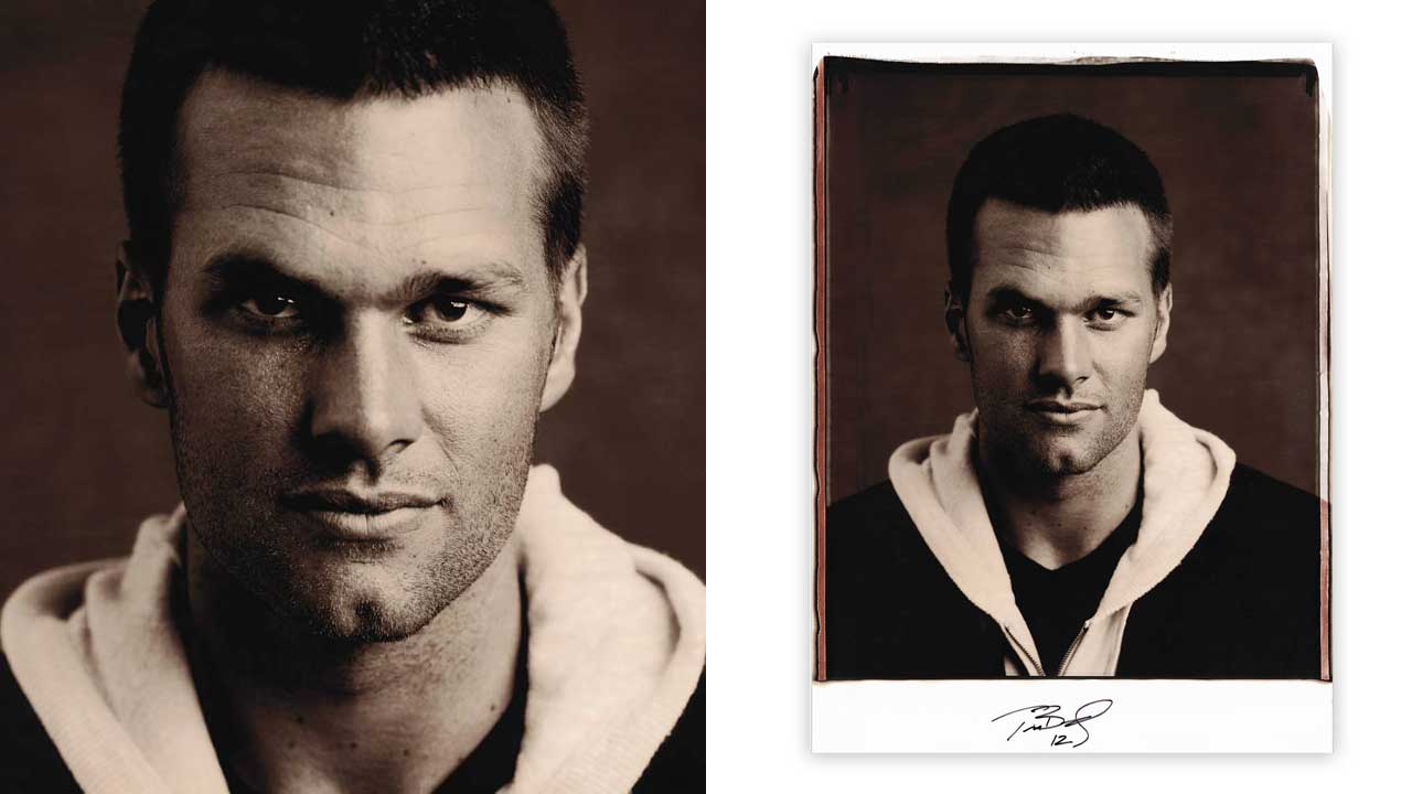 Tom Brady Polaroid