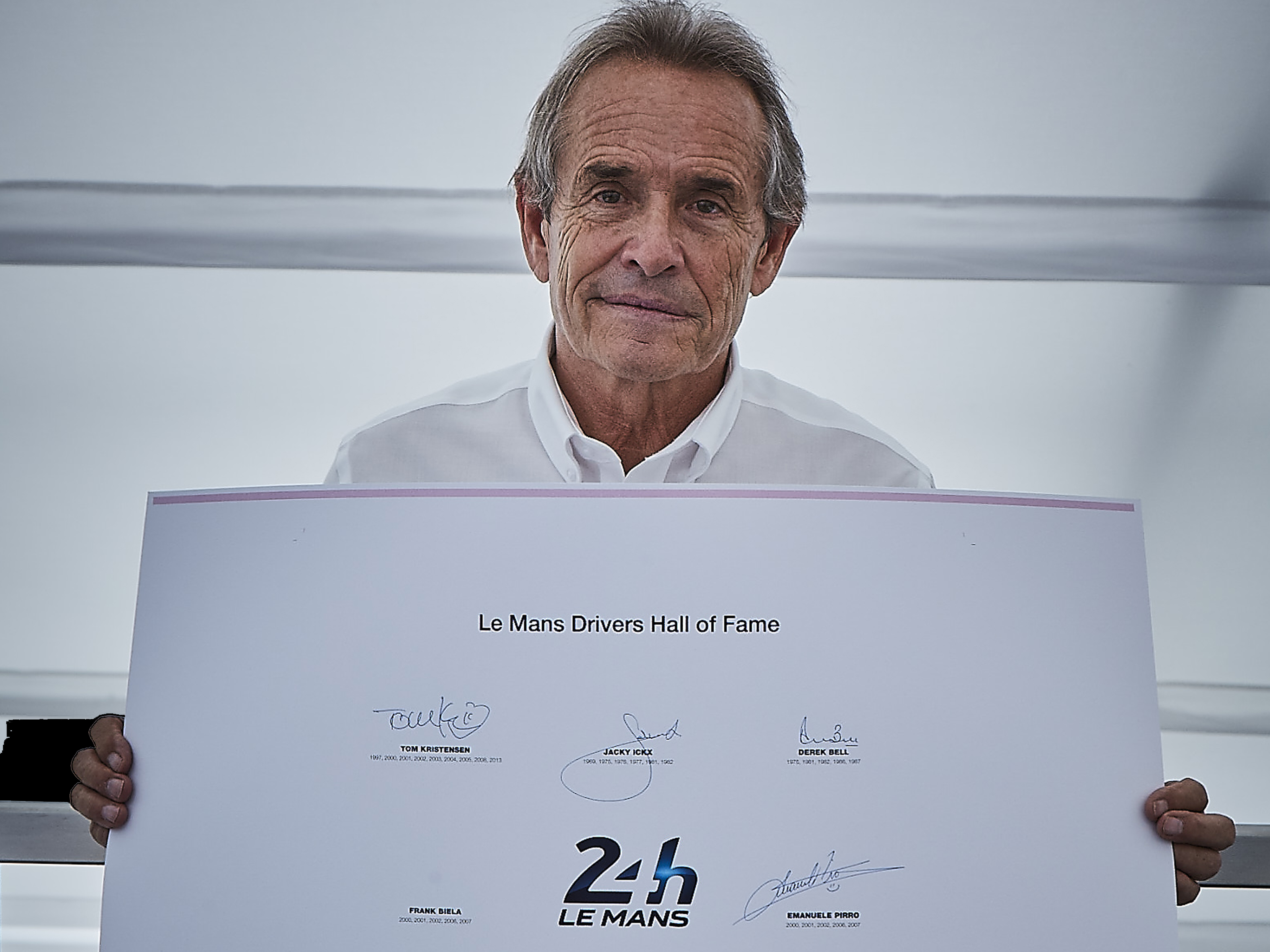 Jacky Ickx Signs For The Opus 24 Hours Lemans Opus