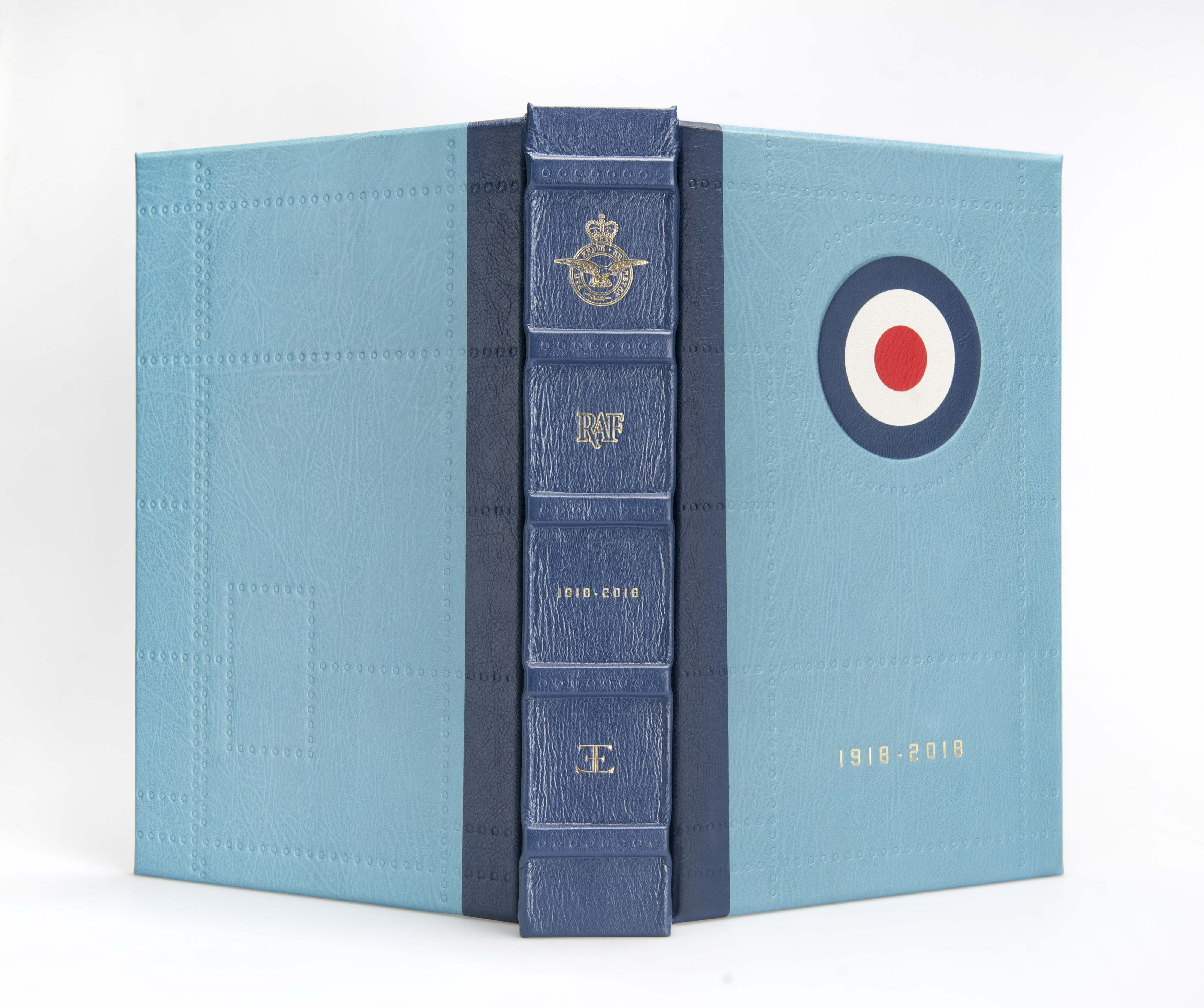 the raf commemorative anthology consists of at nearly 700 pages of  documents, orders, operational reports, maps, air diagrams, diaries,  letters and ephemera